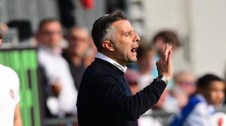 Tomas Oral, Trainer des FC Ingolstadt, will in die 2. Liga aufsteigen.