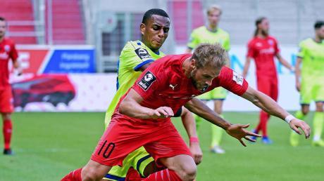 Bringt es auf drei Saisontore: Maximilian Beister ist mit dem FC Ingolstadt beim FC Bayern München II zu Gast.
