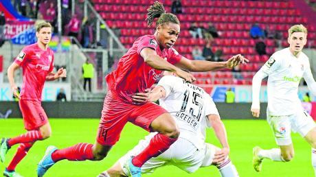Machte in den Testspielen auf sich aufmerksam: Caniggia Elva, dem in der Vorbereitung fünf Tore gelangen, dürfte beim Spitzenspiel in Duisburg in der Startelf des FC Ingolstadt stehen.