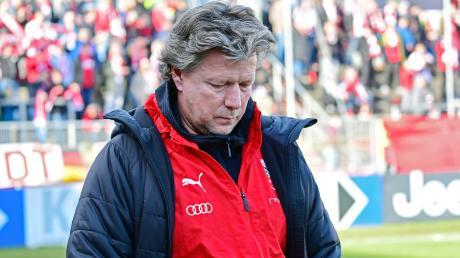 War zuletzt unzufrieden: Jeff Saibene, Trainer des FC Ingolstadt.