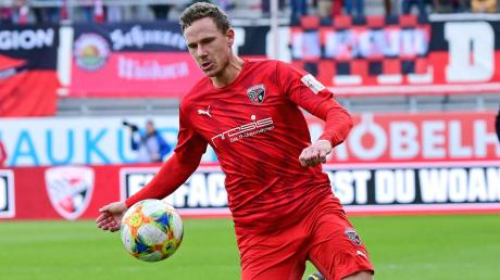Geht voran: Marcel Gaus ist Vizekapitän beim FC Ingolstadt. Am Samstag ist der 30-Jährige mit den Schanzern bei Hansa Rostock zu Gast.