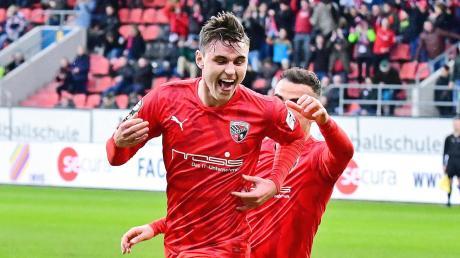 Absolviert bislang eine starke Saison: Ingolstadts Youngster Thomas Keller.