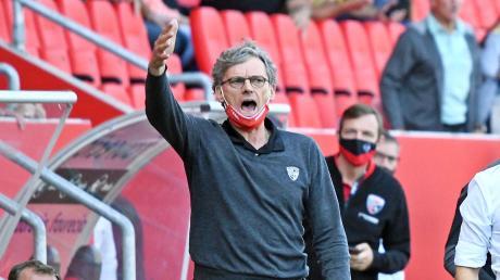 Kann zufrieden mit dem Saisonstart sein: Nun peilt Sportdirektor Michael Henke mit dem FC Ingolstadt gegen die SpVgg Unterhaching den dritten Sieg an.