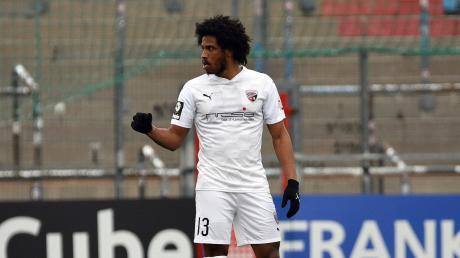 Matchwinner: Caiuby stand erstmals nach seiner Rückkehr in der Startelf des FC Ingolstadt und erzielte beim 1:0-Erfolg bei der SpVgg Unterhaching das entscheidende Tor.