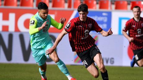 Zurück im Kader: Merlin Röhl musste zuletzt zwei Klausuren schreiben und fehlte in Dresden. Am Mittwoch steht er beim Spiel des FC Ingolstadt beim KFC Uerdingen wieder im Kader der Schanzer.