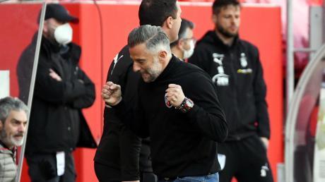 Bleibt zuversichtlich: Trainer Tomas Oral trifft am Samstag mit dem FC Ingolstadt auf den 1. FC Saarbrücken.