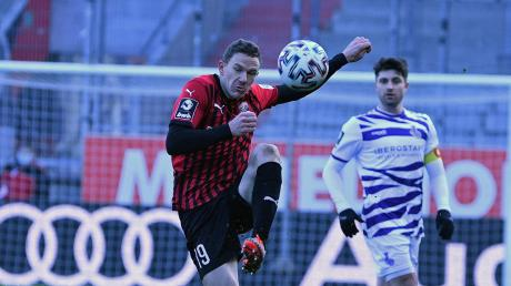 Geht voran: Marcel Gaus empfängt mit dem FC Ingolstadt am Samstag den 1. FC Saarbrücken. In der 3. Liga sind noch drei Spieltage zu absolvieren.