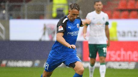 Könnte in die Startelf zurückkehren: Tobias Schröck gab gegen Werder Bremen sein Comeback für den FC Ingolstadt.