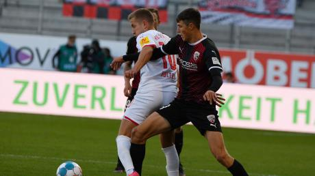 Gefordert: Merlin Röhl (rechts) und der FC Ingolstadt sind am Freitag beim Tabellenletzten Erzgebirge Aue zu Gast.