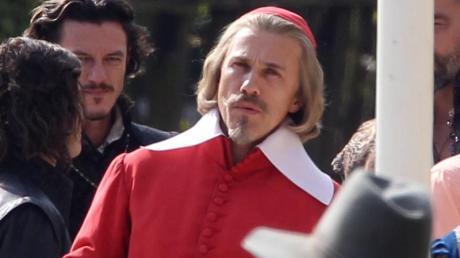 Oscar-Preisträger Christoph Waltz süffisant-bösartigen Kardinal Richelieu. dpa