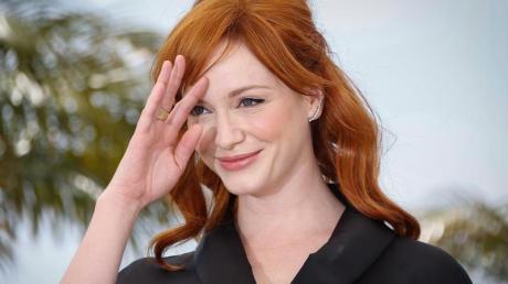"""""""Good Girls"""", Staffel 4 läuft bei Netflix: Start, Handlung, Schauspieler. Christina Hendricks (hier 2014 in Cannes) spielt Beth Boland."""