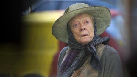 Maggie Smith ist 84 Jahre alt - kein Grund für die Schauspielerin, kürzer zu treten.