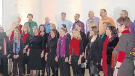 Der Gospelchor Colours feierte sein zehnjähriges Bestehen in der Zachäuskirche.