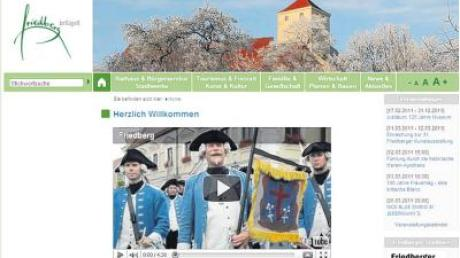 Unter www.friedberg.de ist jetzt ein Werbefilm zu sehen, der für einen Besuch in Friedberg werben soll.