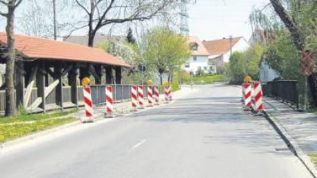 Die Paarbrücke in Hügelshart wird neu gebaut. Die Bauarbeiten beginnen am Montag, 2. Mai.