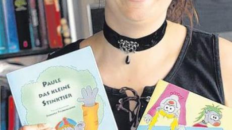 Bilder, Layout, Texte – Jennifer Feldkirchner produziert ihre Kinderbücher komplett in Eigenregie.