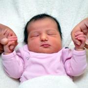 Baby Aliya Yilmaz, geboren am 26. August 2012