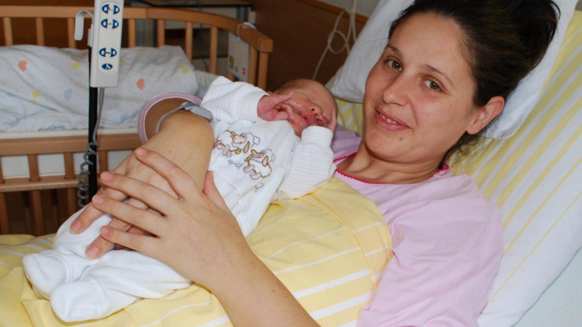 Geburt: Dieses Baby feiert das Krankenhaus besonders
