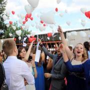 Verabschiedung der Abiturienten in Friedberg