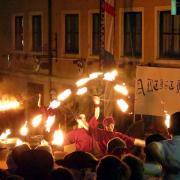 historisches Altstadtfest in Friedberg Friedberger Zeit erster Freitagabend