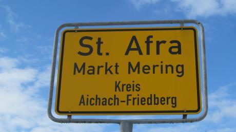 Für die Siedlung von St. Afra will die Marktgemeinde einen Bebauungsplan aufstellen.