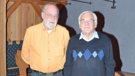 Als Schriftführer folgt auf Gerd Scheder Simon Grahammer (von links).