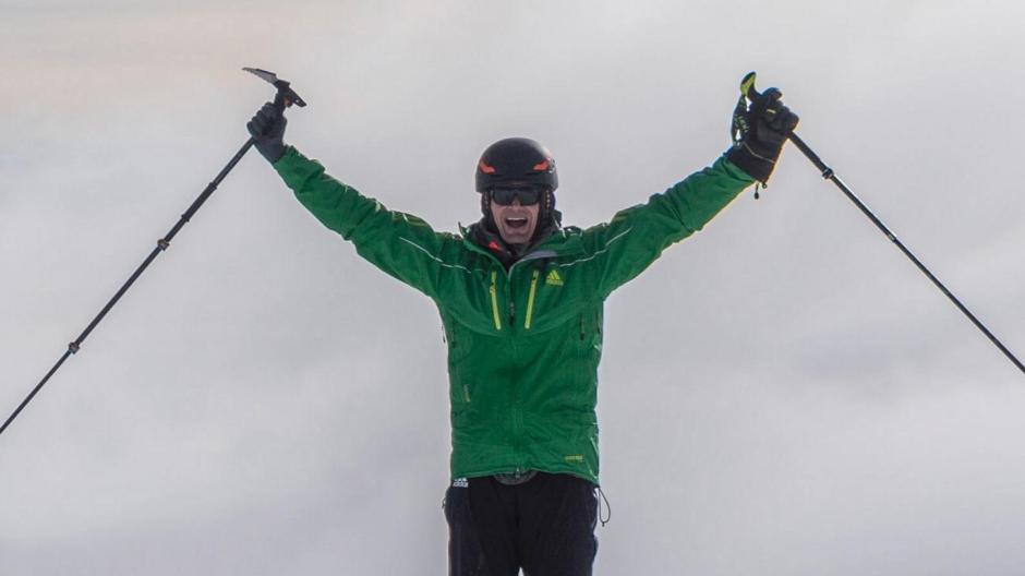 Abseilen Ohne Klettergurt : Bergsteigen: michael teuber stürmt den gipfel nachrichten