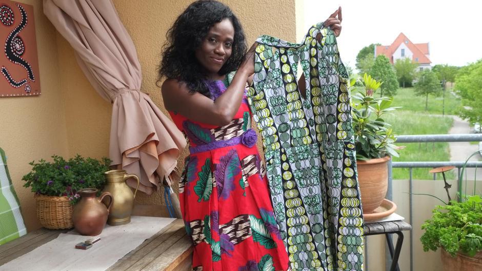 Mode: Mode: In Mering entworfen, in Kamerun genäht - Nachrichten ...