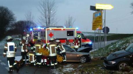 Problemkreuzungen in Aichach-Friedberg beschäftigen die Polizei, aber auch die Bürger.