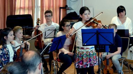Evalotta Eschenbacher spielte einen Reigen der russischen Komponistin Natalja Baklanowa.