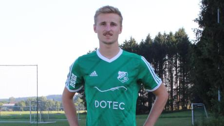Mit zehn Toren in der Rückrunde war Lukas Zink der Garant für den Klassenerhalt des FSV Amberg.