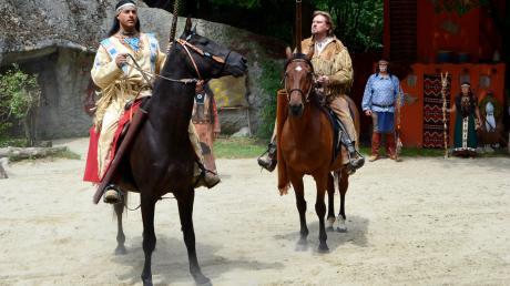 Die Karl May-Festspiele sind noch bis zum 9. September in Dasing zu sehen.