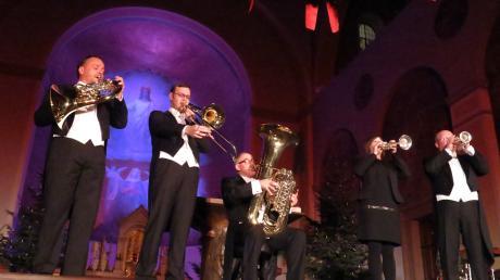 Harmonic Brass beim Friedberger Advent.
