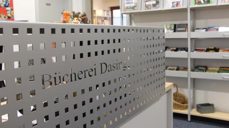 In der neuen Dasinger Bücherei sollen regelmäßig Lesungen stattfinden.