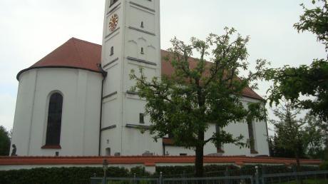Die Pfarrkirche St. Martin in Baindlkirch: Nun soll auch in diesem Ortsteil die Dorfmitte neu gestaltet werden.