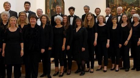 Weihnachtliche A-cappella-Musik präsentiert das Collegium Vocale an Dreikönig in Herrgottsruh.  Foto: Angelika Prehm