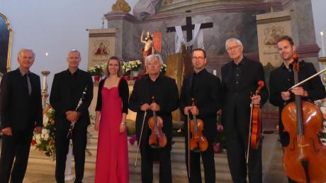 Das Stephanusquartett aus Augsburg und Solisten treten in der Wallfahrtskirche Herrgottsruh auf.