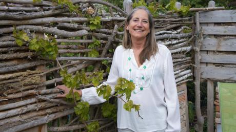 Petra von Thienen tritt als Kandidatin der Grünen für das Bürgermeisteramt in Mering an.