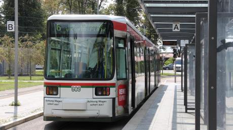 Bisher endet die Straßenbahnlinie 6 in Friedberg-West.