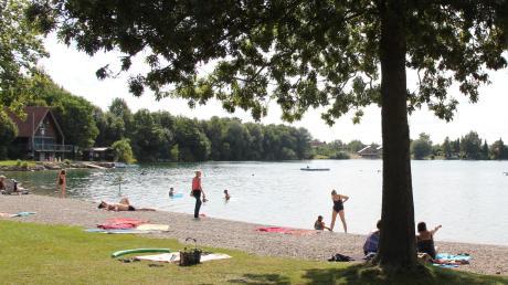 Das Handy wurde einem Badegast am Friedberger See gestohlen.