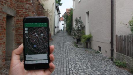 Geocaching kann man ganz einfach machen – auch in Friedberg.