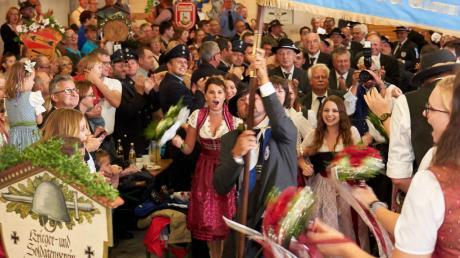 Ein dreitägiges Fest feierte der Soldaten- und Kriegerverein Pfaffenhofen zu seinem 145. Geburtstag.