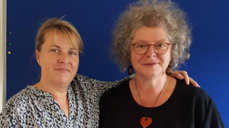 Ute Krebs (links)und Doris Holzheimer sind die neuen Trauerbegleiter in der Meringer Hospizgruppe.