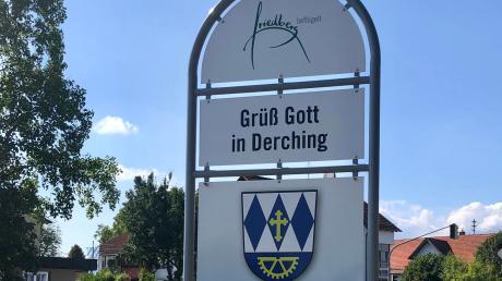 """Derching nimmt am Wettbewerb """"Unser Dorf hat Zukunft"""" teil. Foto: Th. Rummel"""
