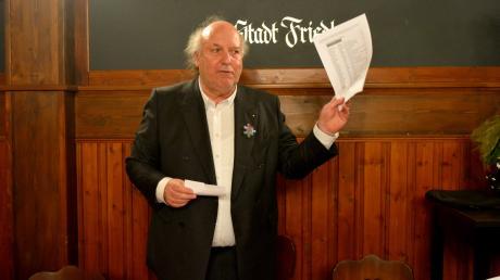 Die Stadtratsliste der Parteifreien führt Architekt Wolfgang Rockelmann an.