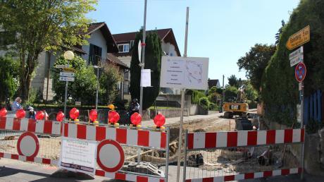 Die Baustelle an derMeringerzeller Straße ist zwar abgeschlossen, der Ärger damit hat aber noch lange kein Ende.