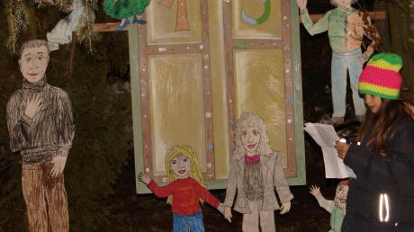 Der Kreativität sind keine Grenzen gesetzt: Die Merchinger öffnen auch in diesem Jahr wieder ihre ganz besonderen Advents-kalendertürchen.   Archivfoto: Christina Riedmann-Pooch