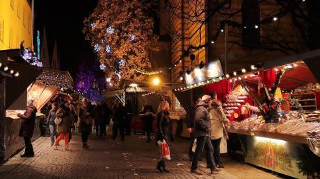 In diesem Jahr findet am Freitag, 13. Dezember, die lange Marktnacht statt, in der der Friedberger Advent bis 22 Uhr geöffnet bleibt.