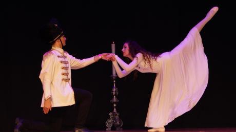 Giampiero und Ayleen waren Solisten beim Nussknacker.