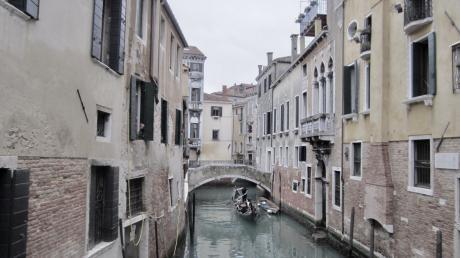 In den 1980er Jahren lichtete Ursula Hatzold mehrfach Venedig ab. Seither habe dessen Authentizität leider stark nachgelassen, sagt die Friedbergerin heute.